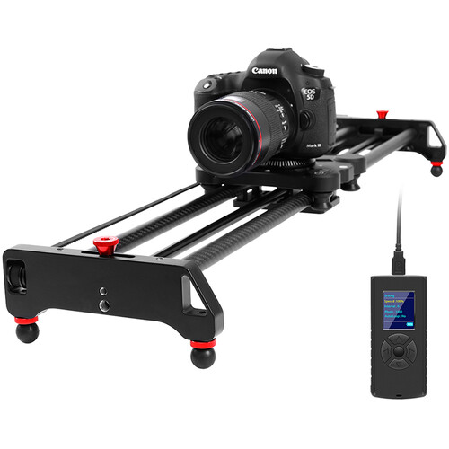 GVM GP-80QD Professional Video Carbon Fiber Motorized Camera Slider (32″) Pro Video GVM