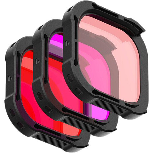 PolarPro DiveMaster 3-Pack Filter Kit for GoPro HERO9 Action & 360 Video Camera PolarPro