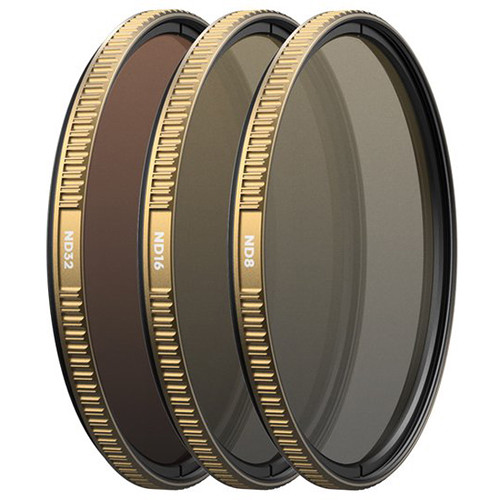 PolarPro Cinema Series 3-Filter Shutter Pack for DJI Inspire 2