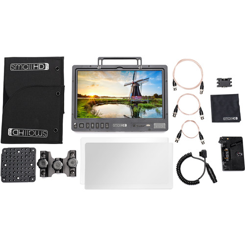 SmallHD 1303 HDR 13″ Production Monitor Gold Mount Kit Monitors SmallHD