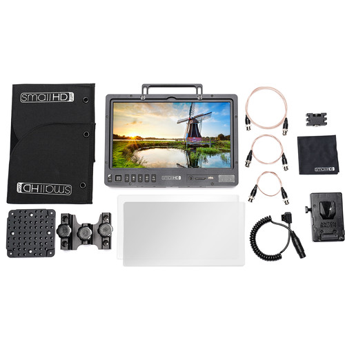 SmallHD 1303 HDR 13″ Production Monitor V-Mount Kit Monitors SmallHD