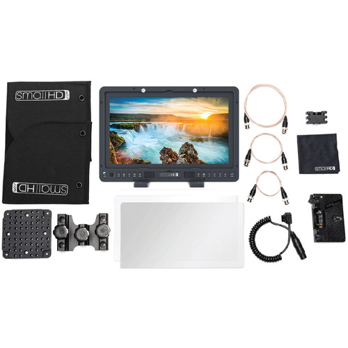 SmallHD 1703 P3X 17″ Studio Monitor Kit (Gold Mount)