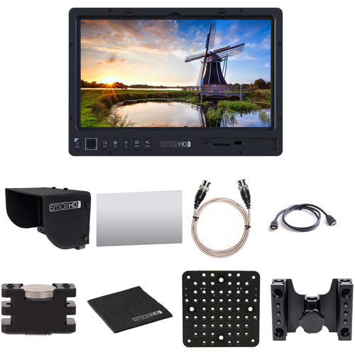 SmallHD 1303 HDR 13″ Production Monitor Kit with Hood, Screen Protector, Mounting Accessories & Cables (Promo)
