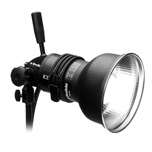 Profoto ProHead Plus Flash Head with Zoom Reflector Continuous Lighting Profoto