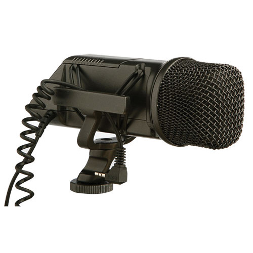 Rode Stereo VideoMic On-Camera Microphone Audio Wired Shotgun Mics ENG/EFP Rode