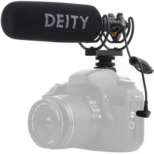 Deity Microphones V-Mic D3 Pro Camera-Mount Shotgun Microphone Audio Wired Shotgun Mics ENG/EFP Deity
