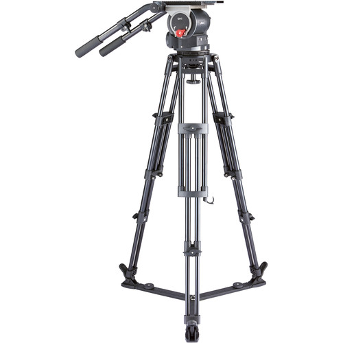 Libec QD-10 Tripod System with Ground Spreader Pro Video Libec