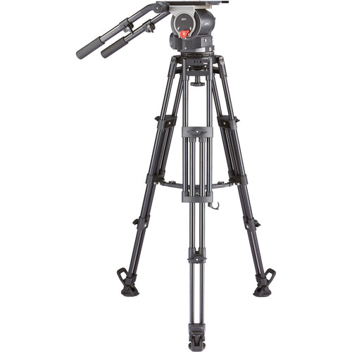 Libec QD-10M Tripod System with Mid-Level Spreader Pro Video Libec