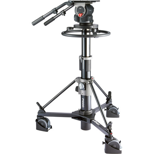 Libec QD-10PD Pedestal System with QH1 Head and P1000 Pedestal Monopods & Accessories Libec