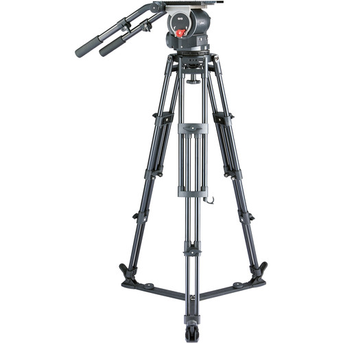 Libec QD-30 Tripod System with Ground Spreader Pro Video Libec