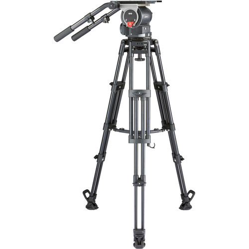 Libec QD-30M Tripod System with Mid-Level Spreader Pro Video Libec