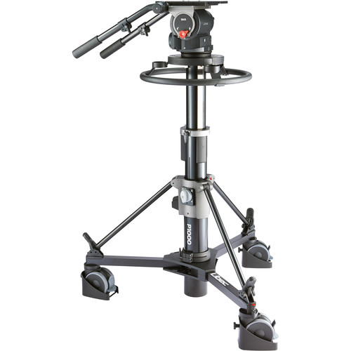 Libec QD-30PD Pedestal System with QH3 Head and P1000 Pedestal Pro Video Libec