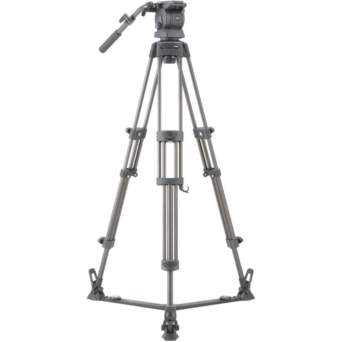 Libec RS-250D Tripod System with Floor Spreader Pro Video Libec