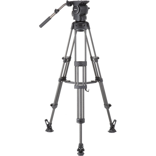 Libec RSP-750MC Professional Carbon Piping Tripod System with Mid-level Spreader for ENG Setups Pro Video Libec