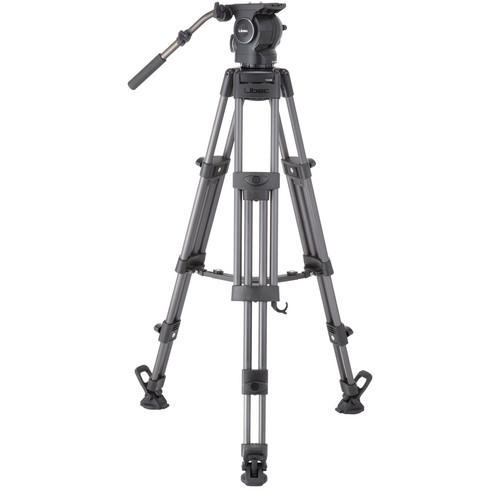 Libec RSP-850M Professional Aluminum Tripod System with Mid-Level Spreader Pro Video Libec
