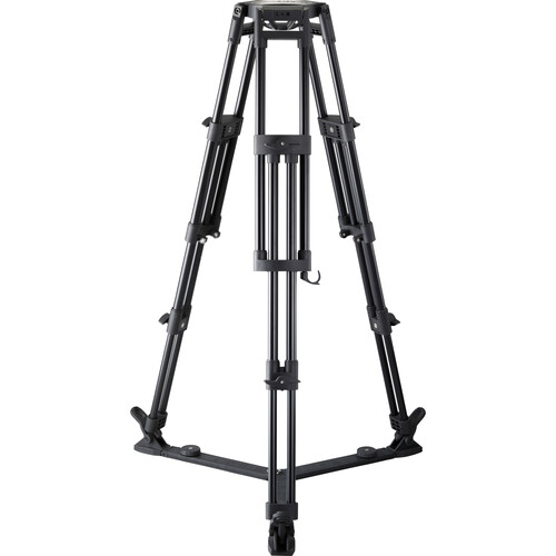 Libec T150F Heavy-Duty 2-Stage Aluminum Tripod Legs (4-Bolt Flat Base) Pro Video Libec