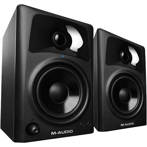 M-Audio AV42 Desktop Speakers for Professional Media Creation (Pair) Field Mixers, Preamps & Accessories M-Audio