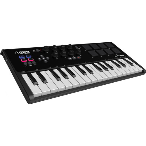 M-Audio Axiom AIR Mini 32 USB MIDI Keyboard Field Mixers, Preamps & Accessories M-Audio