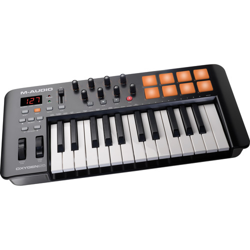 M-Audio Oxygen 25 IV – USB MIDI Keyboard Controller Field Mixers, Preamps & Accessories M-Audio