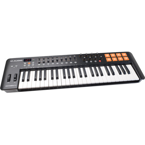 M-Audio Oxygen 49 IV – USB MIDI Keyboard Controller Field Mixers, Preamps & Accessories M-Audio