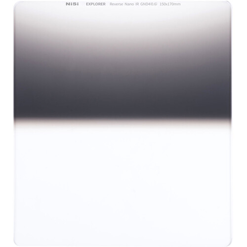 NiSi Nisi Explorer Collection 150x170mm Nano IR Reverse Graduated Neutral Density Filter – Gnd4 (0.6) – 2 Lens Accessories NiSi
