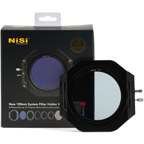 NiSi V6 100mm Filter Holder Kit with Enhanced Circular Polarizer Filter Filter Accessories NiSi