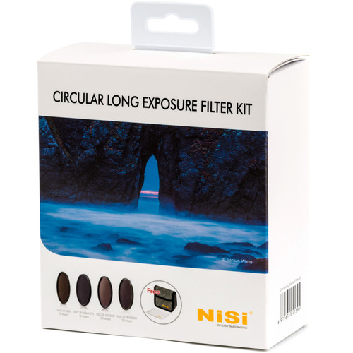 NiSi 82mm Circular Long Exposure Filter Kit Filter Accessories NiSi