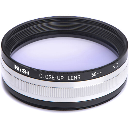 NiSi 58mm Close-Up NC Lens Kit with 49 and 52mm Step-Up Rings Filter Accessories NiSi