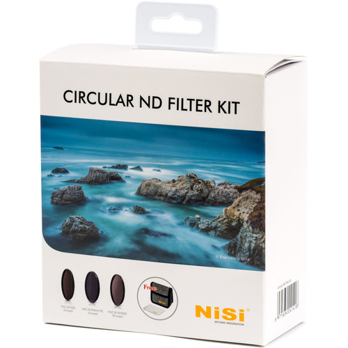 NiSi 82mm Circular ND Filter Kit Filter Accessories NiSi