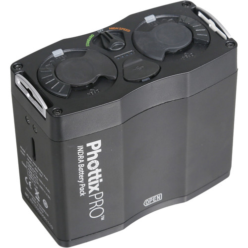 Phottix Indra Battery Pack Lighting Power & Cables Phottix