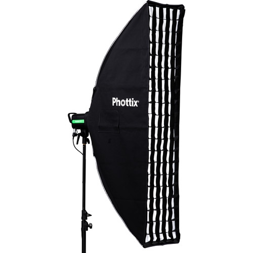 Phottix Solas Strip Softbox (14 x 55″) Light Modifiers Phottix
