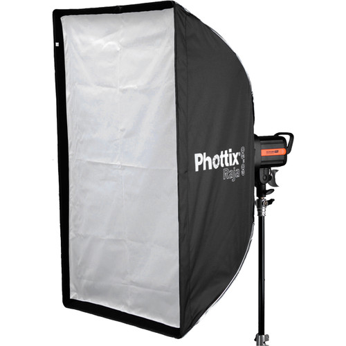 Phottix Raja Rectangular Softbox with Grid (24 x 35″) Light Modifiers Phottix