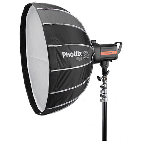Phottix Raja Parabolic Softbox with Grid (26″) Light Modifiers Phottix