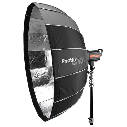 Phottix Raja Parabolic Softbox with Grid (41″) Light Modifiers Phottix