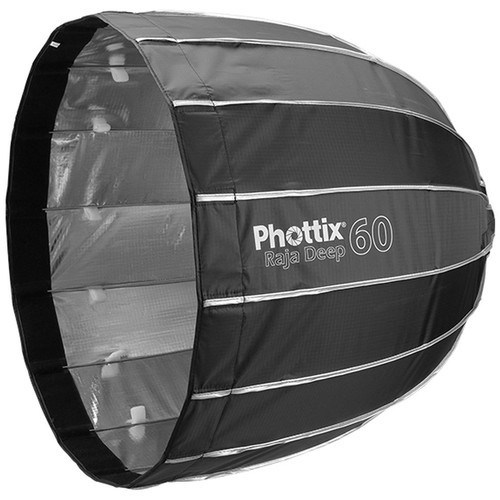 Phottix Raja Deep Parabolic Softbox with Grid (24″) Light Modifiers Phottix