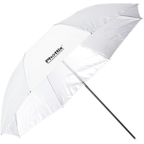 Phottix Small Double-Folding Shoot-Through Umbrella (36″, White) Light Modifiers Phottix