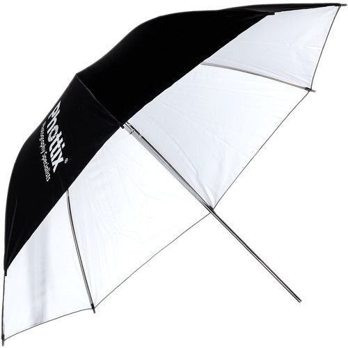 Phottix Reflector 40″ Studio Umbrella (White/Black) Light Modifiers Phottix