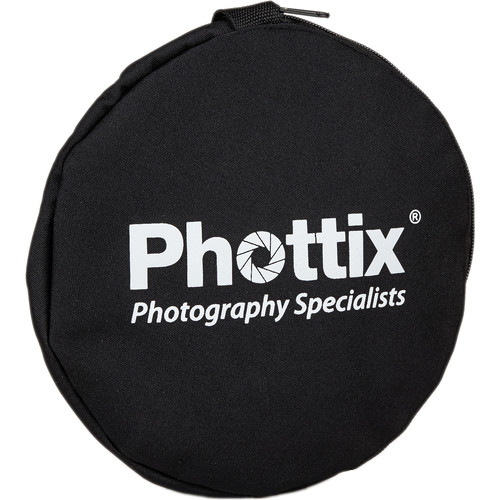 Phottix 5-in-1 Premium Reflector with Handles (47″)
