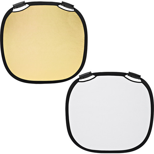 Profoto Collapsible Reflector – Gold/White – 33″