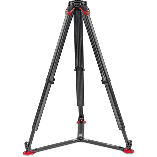 Sachtler flowtech 75 GS Carbon Fiber Tripod with Ground Spreader Monopods & Accessories Sachtler