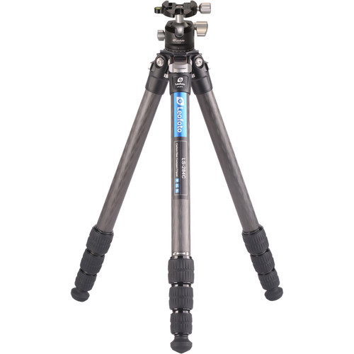 Leofoto LS-284C Ranger Series Tripod and LH-30 Ball Head Kit Pro Video Leofoto