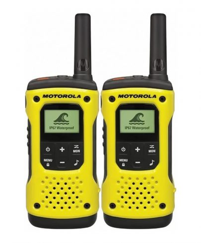 Motorola TLKR T92 H2O Walkie-Talkies – Yellow