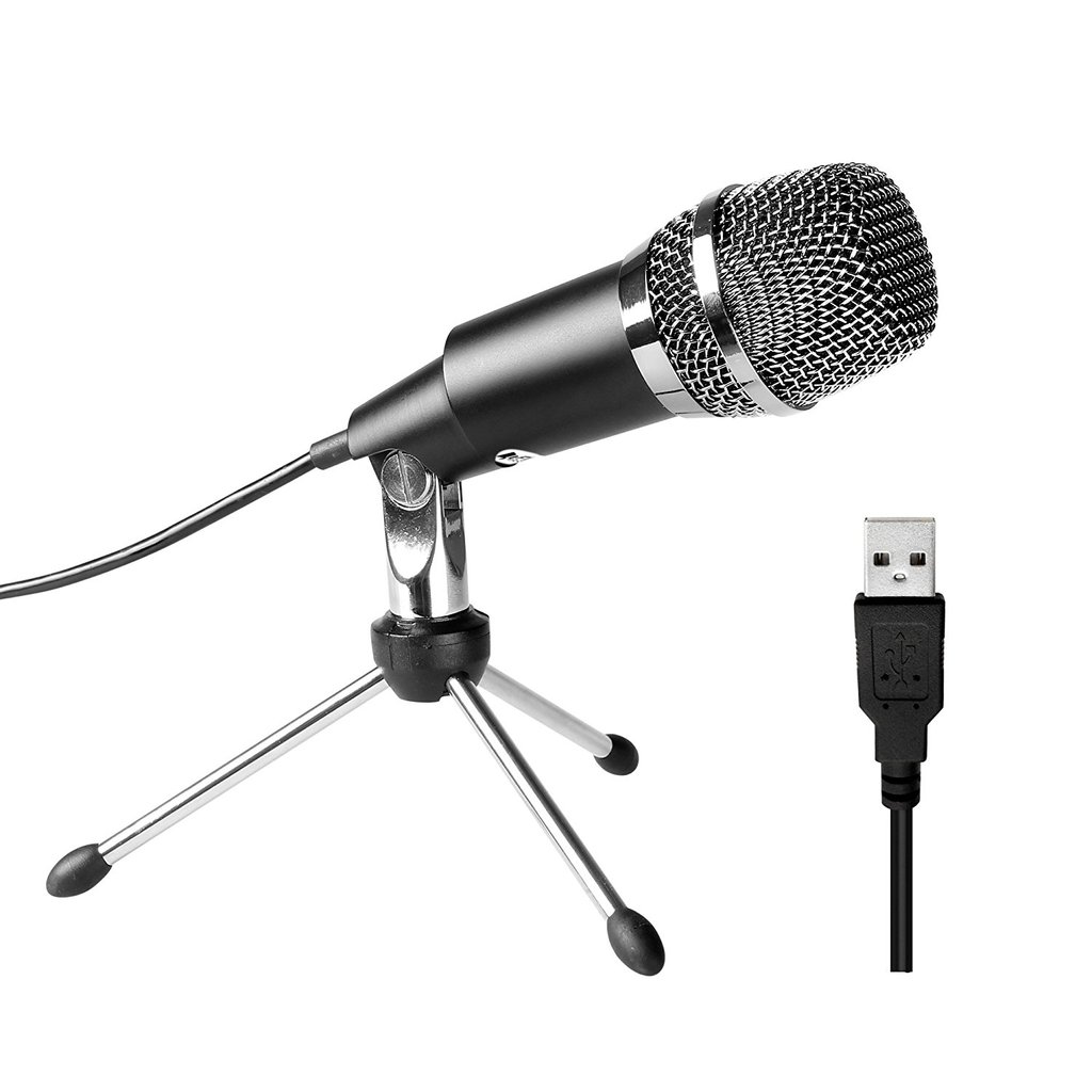 FIFINE K668 USB Microphone Plug & Play with Mac/Windows for Video Call, Streaming , Voice Over Pro Audio FIFINE