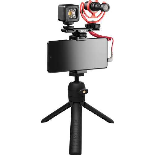 Rode Vlogger Kit Universal Filmmaking Kit for Smartphones with 3.5mm Ports Mobile Photo & Video Accessories Rode