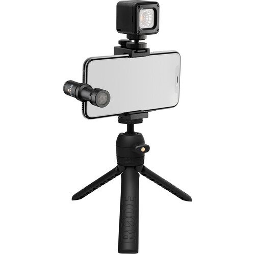 Rode Vlogger Kit iOS Edition Filmmaking Kit for Mobile Devices with Lightning Ports Mobile Photo & Video Accessories Rode