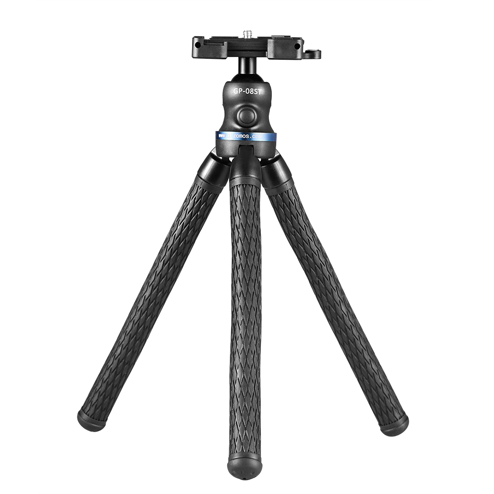 Gizomos GP-08ST Mini Flexible Bendable Tripod Pro Video Gizomos