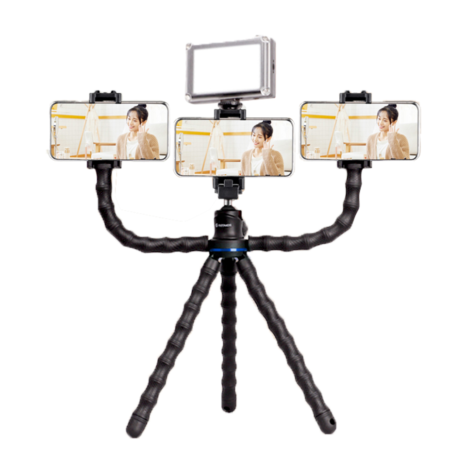 Gizomos gozhimi GP-13ST Octopus tripod stand SLR micro single camera mobile phone tripod mini portable self timer Octopus bracket Pro Video Gizomos
