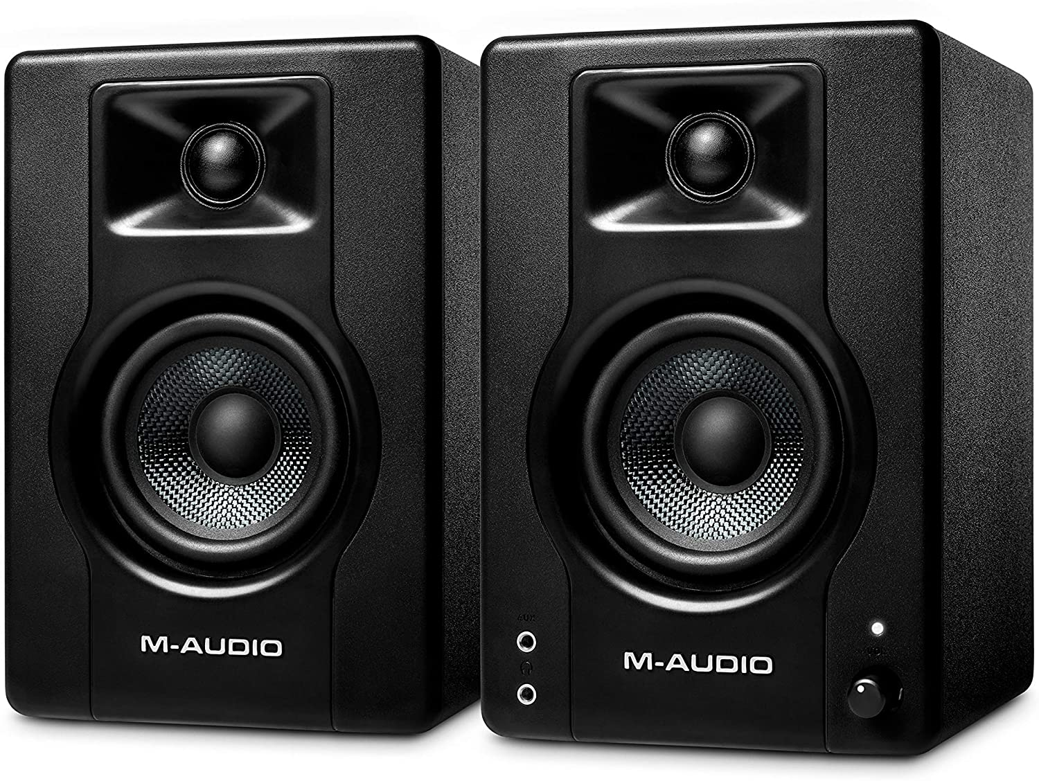 M-Audio BX3 – 120-Watt Powered Desktop Computer Speakers / Studio Monitors for Gaming, Music Production, Live Streaming and Podcasting (Pair) Pro Audio M-Audio